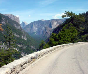 Photo of Yosemite Valley from Hwy 41