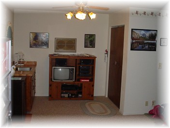 Photo Of Downstairs Entertainment Center