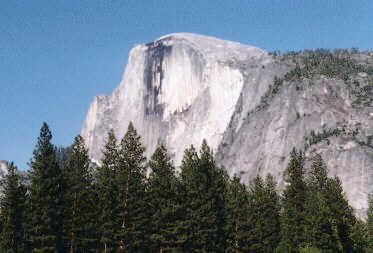 Picture of Half Dome in Yosemite National Park... for a weekend vacation!