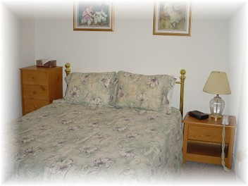 Photo Of Downstairs Queen Bed